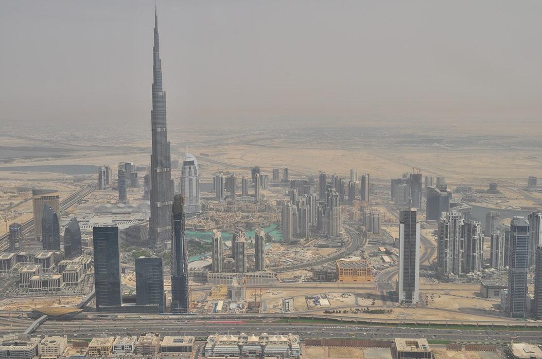 Dubai from the air
